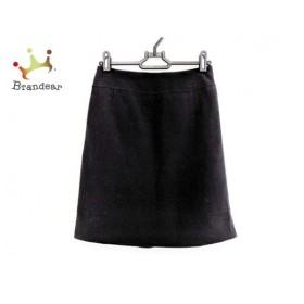 ニジュウサンク 23区 ミニスカート サイズ32 XS レディース 美品 黒 新着 20190914