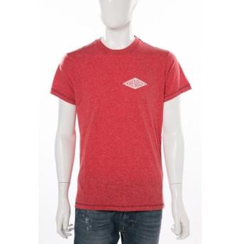 ディーゼル DIESEL Tシャツ 半袖 丸首 T-DIEGO-HC MAGLIETTA メンズ 00STLM 0GAMA レッド