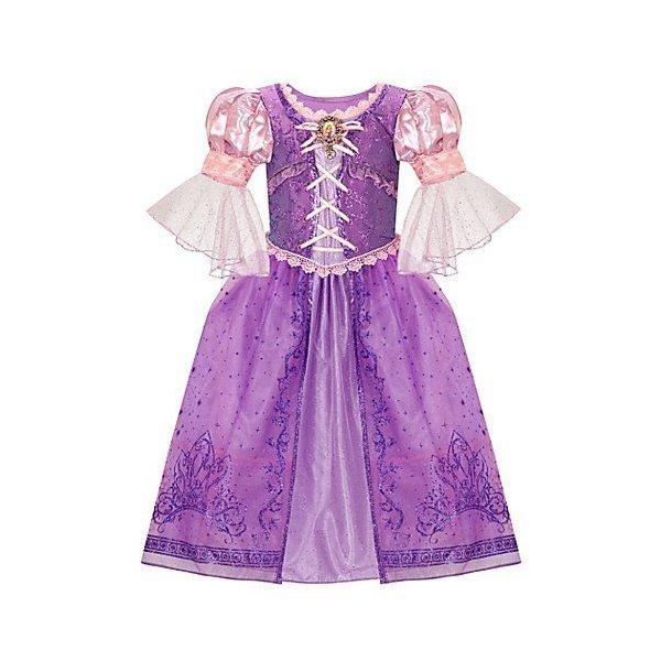 Disney Parks Tangled Rapunzel Girls Costume SMALL 6  NEW dress up