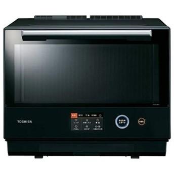 東芝 TOSHIBA スチームオーブンレンジ 30L 過熱水蒸気オーブンレンジ 石窯ドーム グランブラック ER-TD7000-K