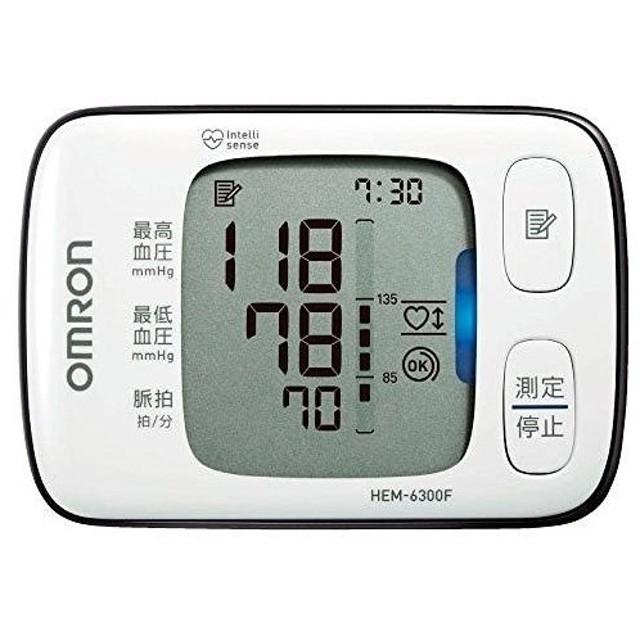 オムロン 電子血圧計 手首式 HEM-6300F