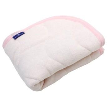 抗菌防臭 SEK加工 綿シンカーパイル 枕パッド 43×63cm ピンク 2434PI