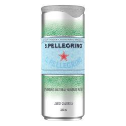 S.Pellegrino聖沛黎洛 天然氣泡礦泉水(330mlx24入) 效期2021/06/30