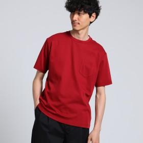 TAKEO KIKUCHI(タケオキクチ:メンズ)/アディクトポンチポケット Tシャツ [ メンズ 無地 ]