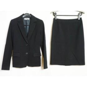 ナチュラルビューティー ベーシック NATURAL BEAUTY BASIC スカートスーツ サイズM レディース 黒【中古】20190910