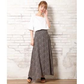 INGNI(イング)/小花柄Aラインスカート