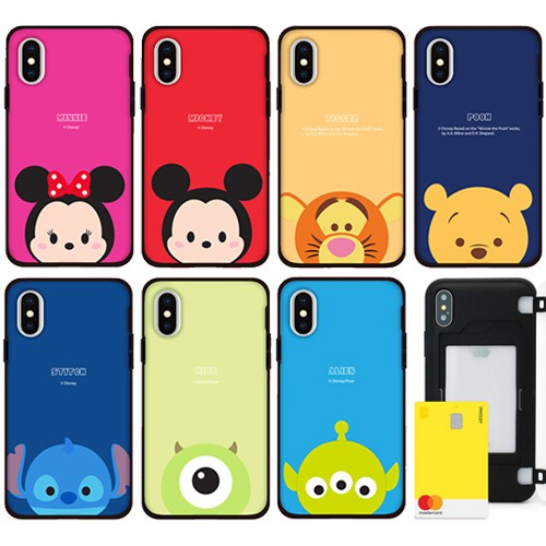 韓國 迪士尼 Tsum 手機殼 磁扣卡夾│LG VELVET G8X V50S V50