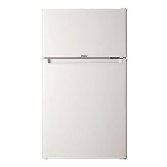 Haier ハイアール 85L 2ドア冷蔵庫 右開き 直冷式 一人暮らし ホワイト JR-N85B-W