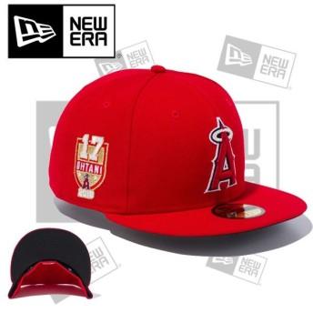 帽子 キャップ CAP ユニセックス メンズ レディース ニューエラ NEW ERA MLB JAPANESE PLAYERS 大谷翔平 59FIFTY ロサンゼルス・エンゼルス