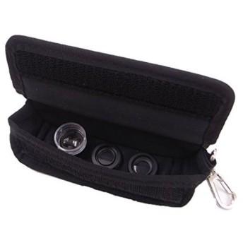 マグネット式レンズ&フィルター+レンズポーチセット マイクロ6キット[KTDF-CMSET-M6BK](ブラック)