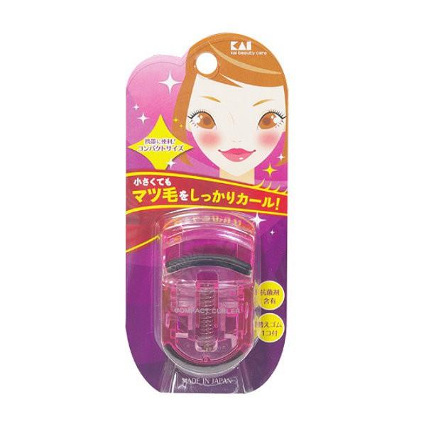 貝印迷你果凍色睫毛夾(粉)KQ-3011【康是美】