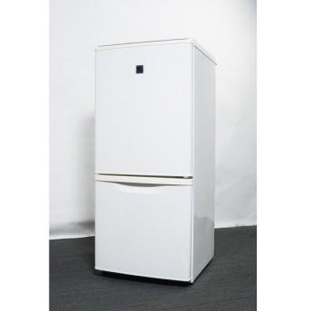 パナソニック 2ドア冷蔵庫 138L NR-B144E8-KB 2012年製 【中古】【一人暮らし】【佐川急便240サイズ】