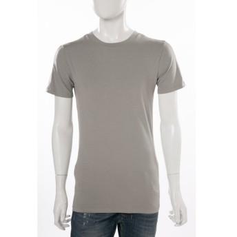 ディーゼル DIESEL Tシャツアンダーウェア Tシャツ 半袖 丸首 55-DTEER MAGLIETTA メンズ 00SRNS 0LAMI グレー