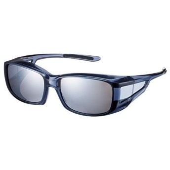 SWANS(スワンズ) 偏光 サングラス メガネの上からかける オーバーグラス OG4-0751 SCLA スモーククリア