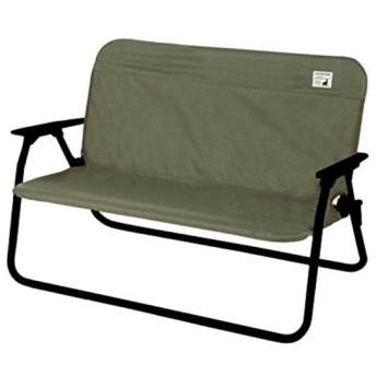CAPTAIN STAG ベンチ カバー アルミ背付きベンチ用 着せかえカバー カーキ[UC-1655](00)