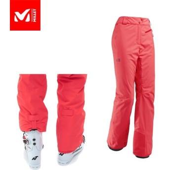 MILLET ミレー JPリスカムストレッチパンツ スキーウェアパンツ Woman 女性用 (POPPYRED):MIV8132
