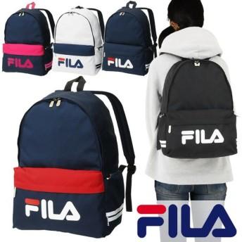 フィラ FILA リュックサック デカロゴ 全5色 27リットル デイパック バックパック スターリッシュ 男子 女子 可愛い スクールバッグ 7494