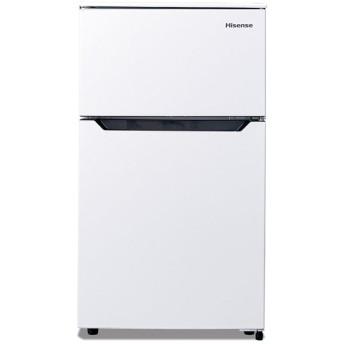 ハイセンス 93L 冷凍冷蔵庫 ホワイト HR-B95A