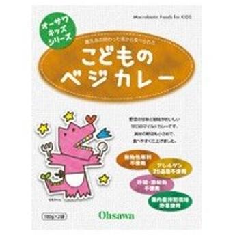 オーサワのキッズシリーズ こどものベジカレー 100g×2袋 - オーサワジャパン