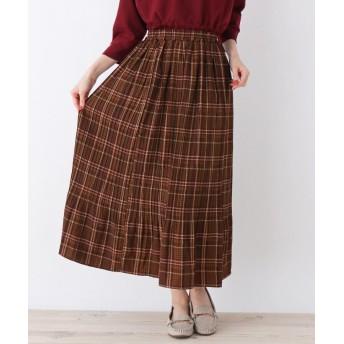 SHOO・LA・RUE/Cutie Blonde(シューラルー) 柄プリント消しプリーツスカート