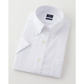 【SALE(三越)】<シャツファクトリー/SHIRT FACTORY> 半袖色ドビーワイシャツ(CFN632-200)(MO018N0MO00000GHJ) 200シロ 【三越・伊勢丹/公式】