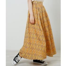 【レイカズン/RAY CASSIN】 エスニックウォール柄スカート