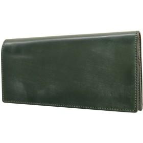 [コルボ] CORBO. 長財布 1LD-0236 face Bridle Leather フェイスブライドルレザーシリーズ ダークグリーン CO-1LD-0236-60