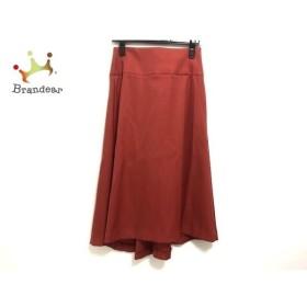 ドレステリア DRESSTERIOR ロングスカート サイズ36 S レディース 美品 レッド   スペシャル特価 20191220