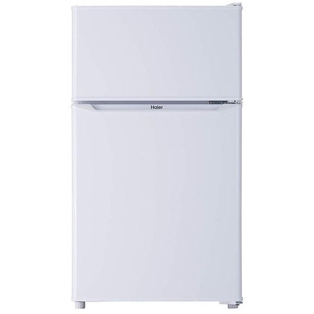 ハイアール Haier 85L 2ドア冷蔵庫 一人暮らし 右開き 直冷式 ホワイト JR-N85C-W