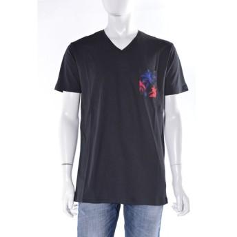 ディーゼル DIESEL Tシャツアンダーウェア Tシャツ 半袖 Vネック BMOWT-OKHO T-SHIRT メンズ 00CG5S 0EAMH ブラック DSL大量入荷