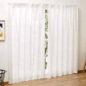 シ-フィ-ルド 防カビ 除湿 レースカーテン 2枚組 ホワイト 幅100x133cm丈 SB-443 100230203001-01-01