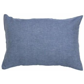 メリーナイト ピローケース サックス 枕カバー/43×63cm イージーケア 枕カバー 「シャンブレー」 FF16100-76