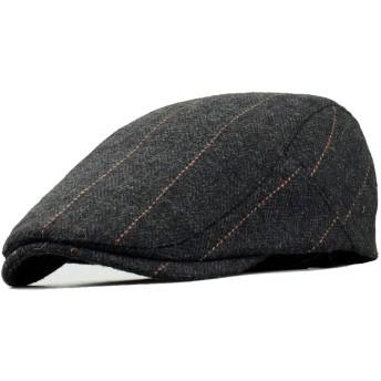 Clape コットンハット アウトドア 通勤 無地 キャスケットハンチング 帽子 シンプル & ベーシック おしゃれ 帽欧米紳士 ワークキャップ