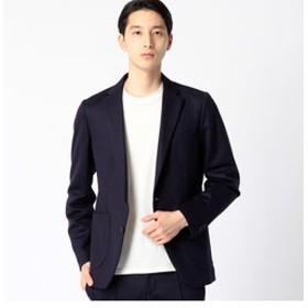 【COMME CA MEN:スーツ・ネクタイ】ブライトジャージセットアップジャケット