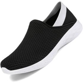 [BOLOG] デッキシューズ レディーススリッポン ウォーキングシューズ ローファー モカシン ナースシューズ 安全靴 作業靴 超軽量 ランニングシューズ 通気性 スニーカー 大きいサイズ
