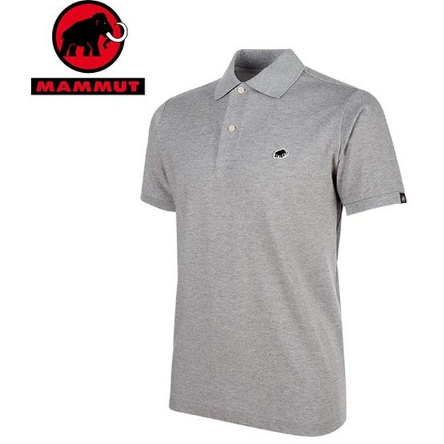 MAMMUT マムート MATRIX Polo Shirt Men メンズ 半袖シャツ 2019 SS (granitMelange):1017-00400