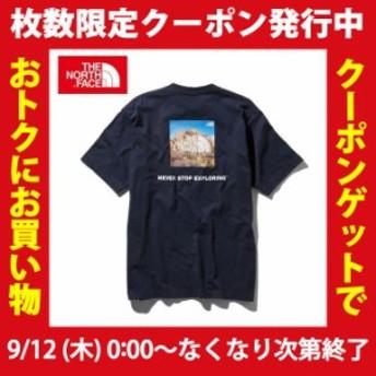 ノースフェイス Tシャツ 半袖 メンズ ショートスリーブスクエアロゴジョシュアツリーティー NT31952 THE NORTH FACE od