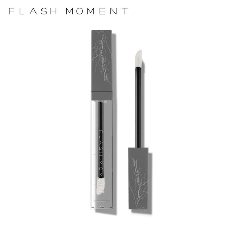 FlashMoment 小方管透明保濕唇彩提升雙唇亮澤無色唇釉 6ML