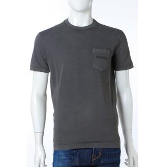 ディースクエアード DSQUARED2 Tシャツ 半袖 丸首 メンズ S74GD0292S20694 ダークグレイ