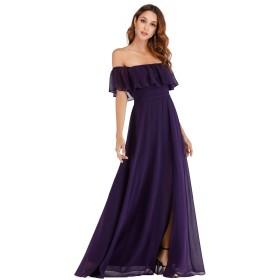 Ever-Pretty イブニングドレス ロングドレス 演奏会 ドレス 結婚 パーティードレス ブライズメイド ドレス ロングドレス