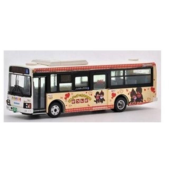 トミーテック 283850 <JH022> バスコレ80 京成タウンバス モンチッチに会えるまちかつしかラッピングバス 写真版