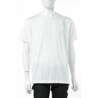 ディーゼル DIESEL Tシャツ 半袖 丸首 T-JOE-I MAGLIETTA メンズ 00SN54 0HAKR ホワイト DSL大量入荷