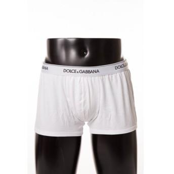 ドルチェ&ガッバーナ DOLCE&GABBANA パンツアンダーウェア ボクサーパンツ 下着 2枚組 メンズ N9A07J O0025 ホワイト 限定送料無料