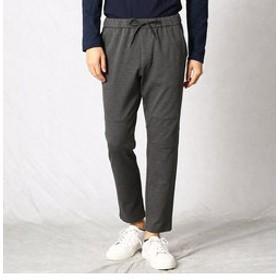 【COMME CA MEN:パンツ】ポンチ ジョガーパンツ