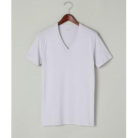 <シーク/SEEK> 年間素材/VネックTシャツ(EE1514A) 98・ライトグレー 【三越・伊勢丹/公式】