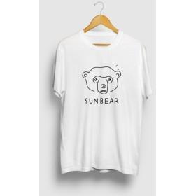 マレーグマ SUNBEAR 熊 動物イラストTシャツ