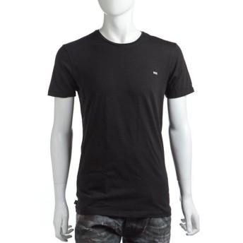 ディーゼル DIESEL Tシャツアンダーウェア 半袖 丸首 メンズ 00CG24 00AOW ブラック