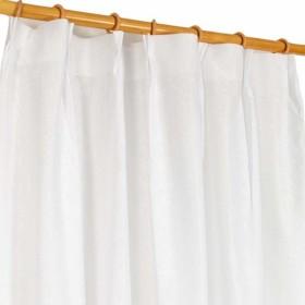 アーリエ(Arie) レースカーテン ホワイト 幅100×丈176cm 2枚セット 省エネで透けにくい高機能 サンフラワー