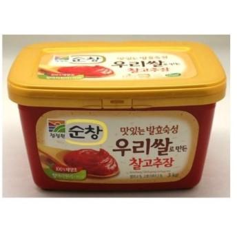 【清浄園 】スンチャンコチュジャン 3kg ■韓国食品・韓国食材・韓国調味料 ・スンチャンルコチュジャン・韓国赤味噌・味付■