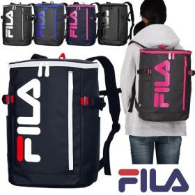フィラ FILA リュック ボックス型 スクエア 21リットル 全6色 シグナル 通学 撥水 かわいい 男子 女子 スクールバッグ スクバ 7576